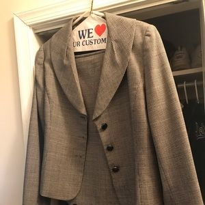 Wool Tweed Suit. Worn only a few times.